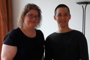 Claudia Bruns und QD Lam